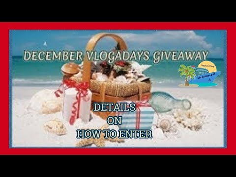 VLOGADAYS ANNUAL GIVEAWAY DETAILS!!!