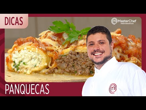 COMO FAZER PANQUECA Com Raul Lemos | DICAS MASTERCHEF