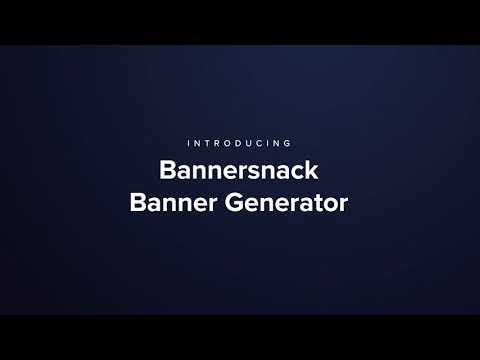 Banner Generator - Discover the next level of banner design