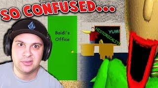 SENT TO BALDI'S OFFICE... A NEW SECRET ENDING?! | Baldi's Basics (Secret Ending) thumbnail