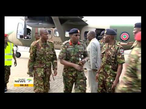 Sarah Kimani on search and rescue operation for Kenyan soldiers