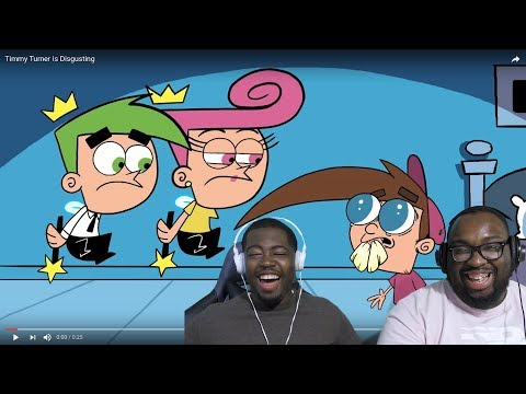 Timmy Turner Is Disgusting / Dragon Ball Zee 2 REACTION @Meatcanyon @Gonzossm