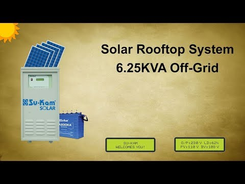 What is a solar power conditioning unit?