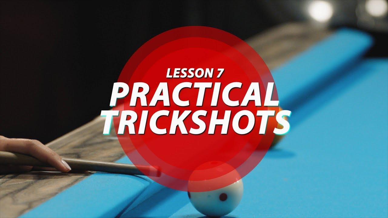 Billiard Tutorial: Practical Trick Shots!!!