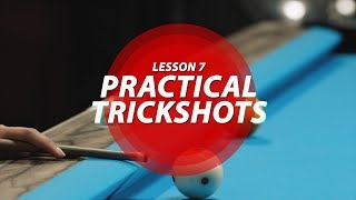 Billiard Tutorial: Practical Trick Shots!!!