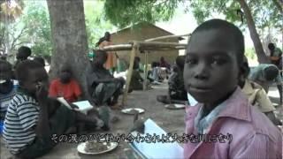 1日1回の食事は学校の給食【南スーダン/給食支援】