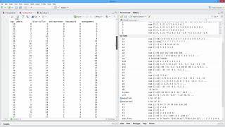 كيفية إنشاء جدول تكراري في ر. [HD]