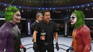 JOKER 2K8 vs THE JOKER 2K19 | EA Sports UFC 3
