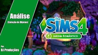 Análise - The Sims 4 - Jardim Romântico - Coleção de Objetos