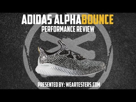 07699aafc adidas alphaBOUNCE Performance Review - Weartesters.com - YouTube