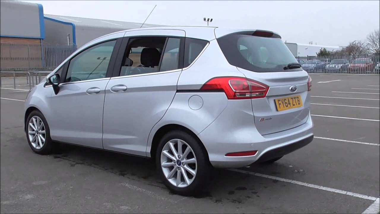 ford b max 1 6 titanium 5dr powershift u106004 youtube. Black Bedroom Furniture Sets. Home Design Ideas