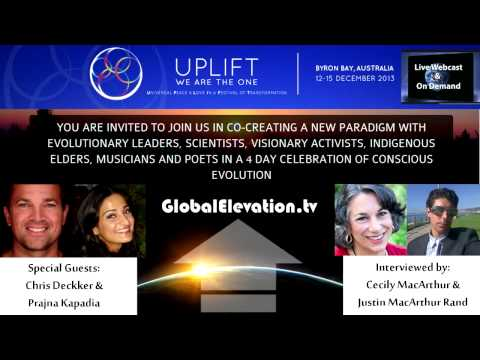 Uplift Festival interview with Chris Deckker and Prajna Kapadia