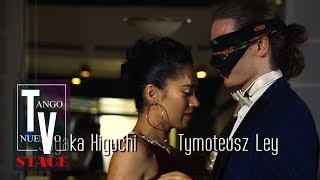 Tymoteusz Ley & Sayaka Higuchi, blindfolded improvisation - Maritime Tango Challenge 2018