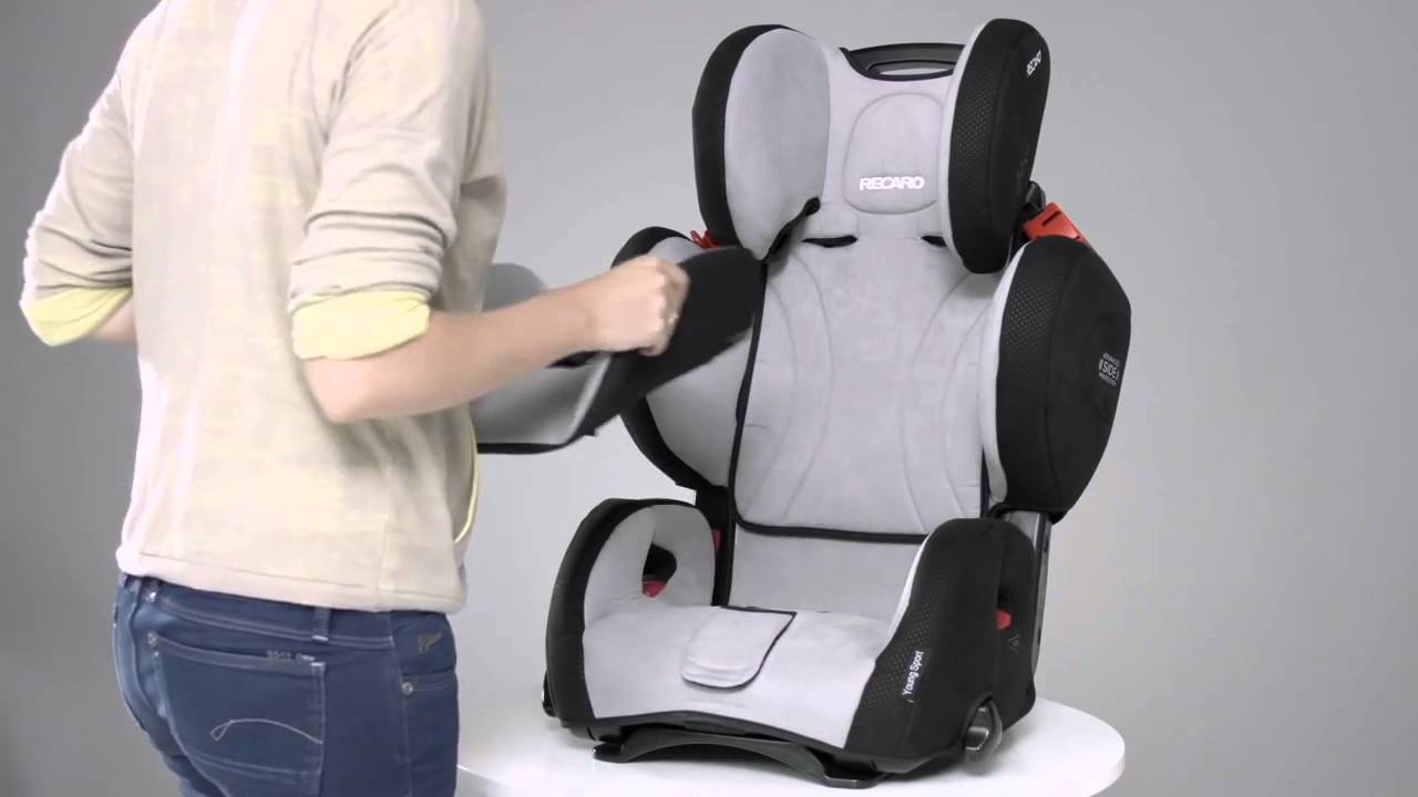recaro young sport hero comment installer le si ge auto correctement youtube