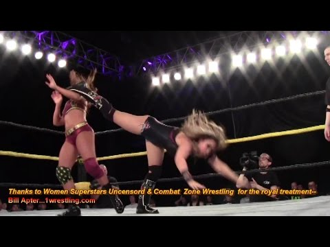 TULLY BLANCHARD'S DAUGHTER TESSA  VS. WSU CHAMP CHERRY BOMB--FEMALE REVOLUTION EXPLODING!