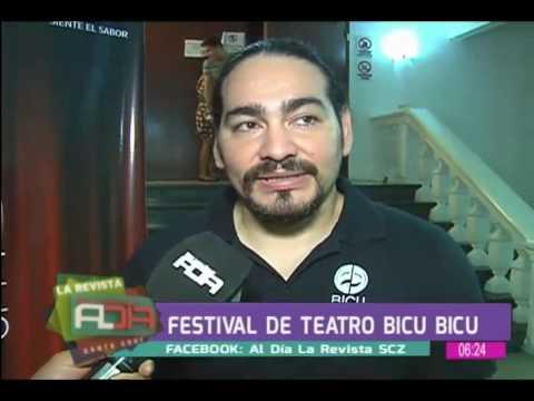 Festival de teatro Bicu Bicu en la Casa de la Cultura