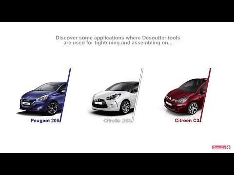 Desoutter at PSA Peugeot Citroën's plant - Poissy
