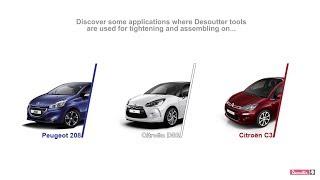 Desoutter Application ► PSA Peugeot Citroën's plant (Poissy, France)