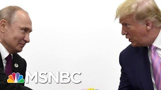 Donald Trump And Vladimir Putin Joke About Election Interference And Journalists | Hardball | MSNBC