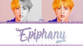 Gambar cover BTS JIN – 'EPIPHANY' Lyrics [Color Coded_Han_Rom_Eng]
