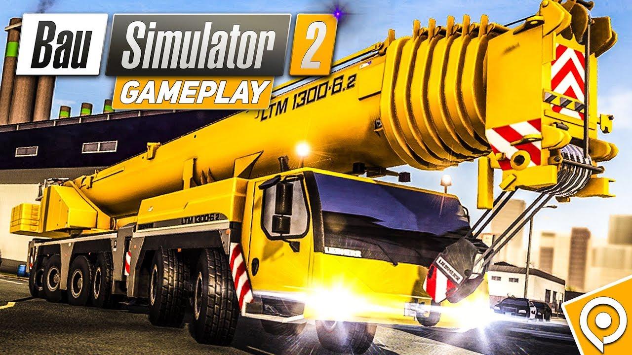 bau simulator 2 gameplay der console und pocket edition vom construction simulator 2 youtube. Black Bedroom Furniture Sets. Home Design Ideas