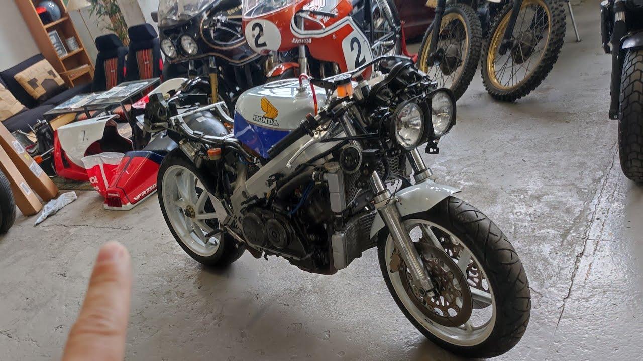 Honda VFR 750R RC30 Naked?? Vemos todo y la arrancamos (Moto de 45.000€)