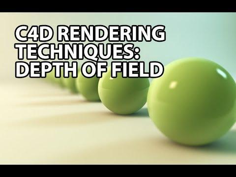 Cinema 4D Rendering Techniques: Depth of Field