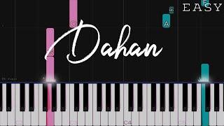 Dahan - December Avenue | EASY Piano Tutorial