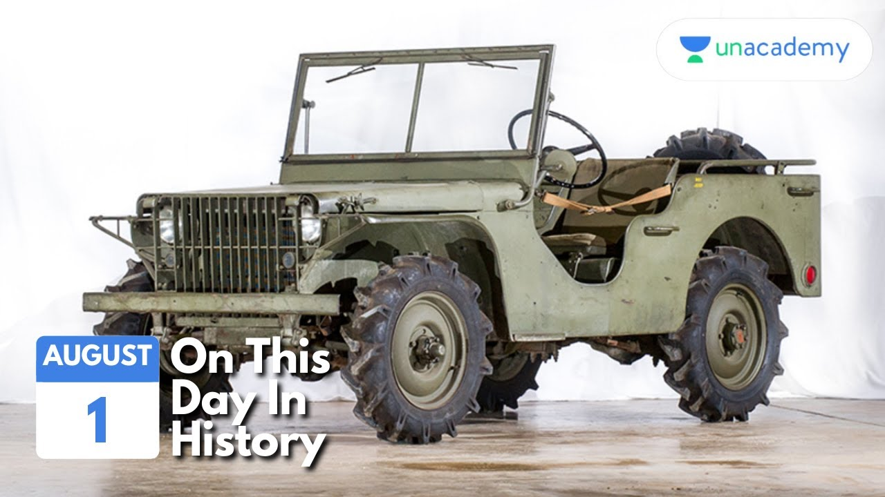 On This Day - August 1 #shorts #onthisday