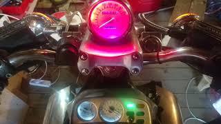 Индикатар тахометра на светодиадах v-max 1200