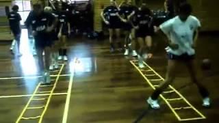 видео Техника основных движений и методика обучения им в волейболе