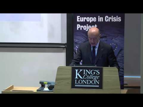 Alain Juppé gives vision for Future of Europe