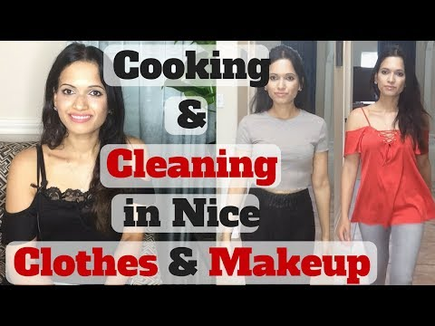 Why I Dress Up Daily   Cleaning in Nice Clothes   Looking Presentable Always   Daily Grooming Habits