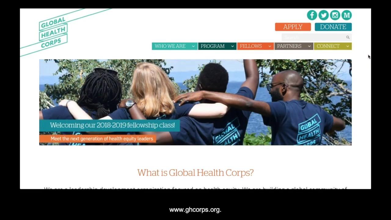 FAQs | Global Health Corps