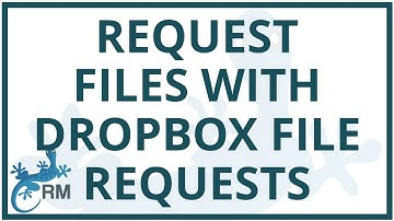 How to request files with Dropbox File Requests