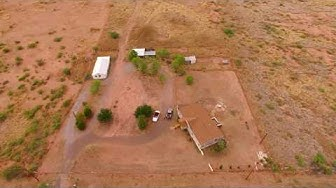 New Hemp Cities Raw Land Drone Shot -  Mc Neal AZ