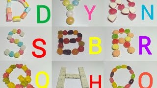 ABC song Jelly Alphabet for children gummy bear,gummy worm, ABC Songs Phonics Songs