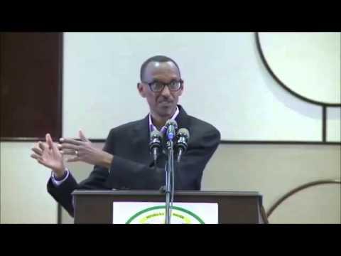 Kagame Paul yemera ko ariwe wishe Patrick Karegeya