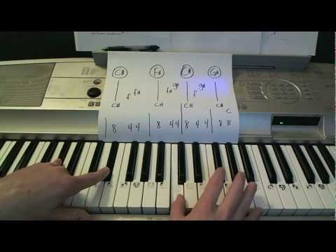 I Will Wait- Piano Lesson- Mumford & Sons(Todd Downing)