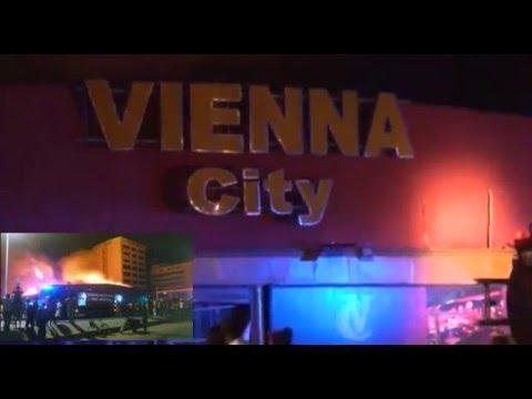 Vienna City razed down by fire