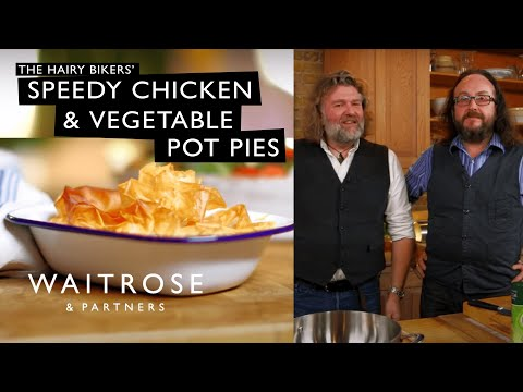 Hairy Bikers' Speedy Chicken And Vegetable Pot Pies | Waitrose