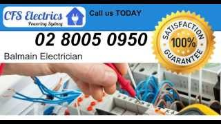 Call us NOW - Electrician Balmain - Sydney 02 8005 0950 - Electrical Contractors Sydney