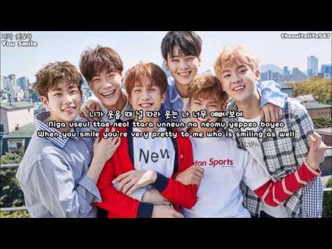Astro - You Smile (Hangul, Romanization, Eng Sub)