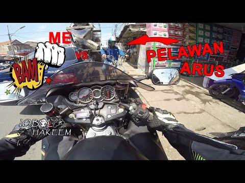 #26 #Motovlog | Road Rage Lawan Arah