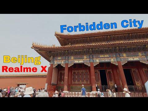 Realme X Launch, Beijing tour, forbidden city tour, tiananmen square
