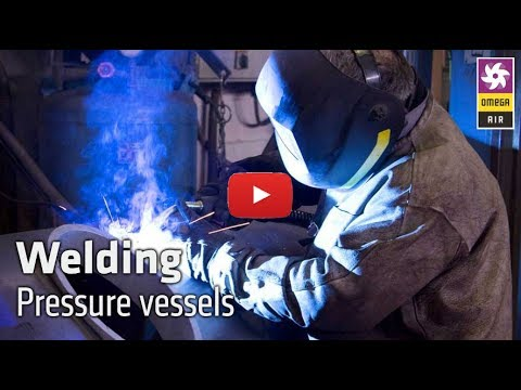 OMEGA AIR Welding department - Production of pressure vessels