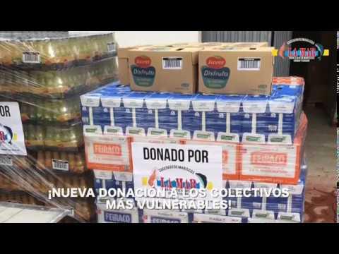 Cocedero La Mar realiza una donación de alimentos a Cáritas Mérida-Badajoz