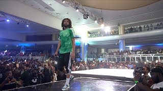 J Cole Live in Lagos Nigeria (FULL PERFORMANCE)