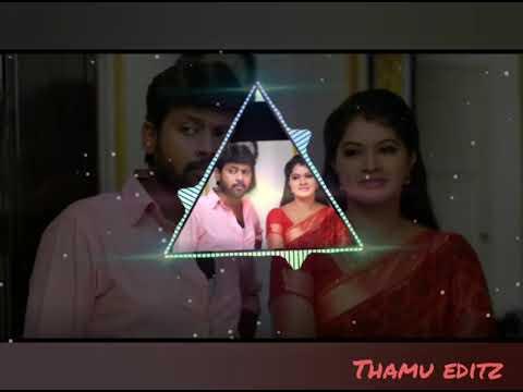 Saravanan meenatchi BGM whatsapp status    serial ** love status song