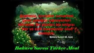 Bakara suresi Türkçe meal 62,63,64,65,66,67,68 ve 69. ayetler